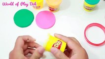 Make a pink lollipop for Peppa Pig - Play Doh Cakes