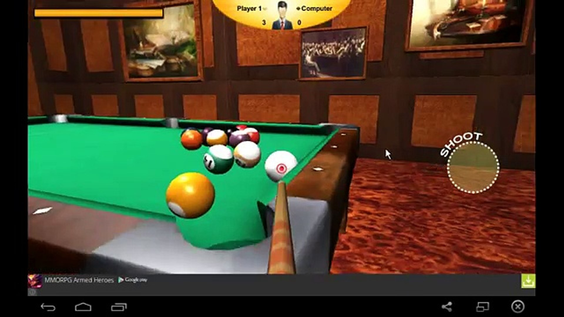 Американский Бильярд: Восьмерка /American Billiards: Eight - for Android and iOS GamePlay