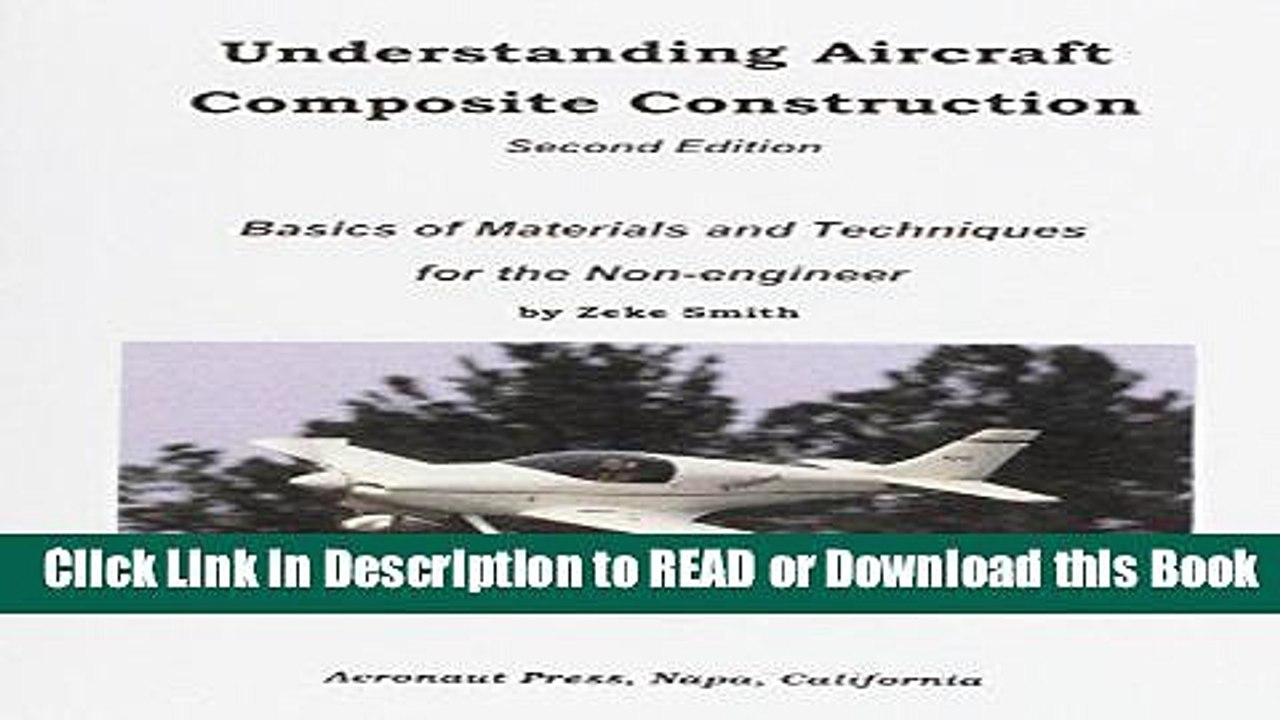 [PDF] Understanding Aircraft Composite Construction, Second Edition  Download Online