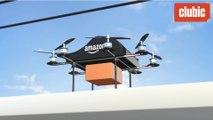 Amazon teste un nouveau type de livraison par drone