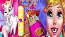 La Gata Angela! La serie #1. Las películas de dibujos animados sobre los gatitos. Dibujos animados para niñas. El juego de un gato.
