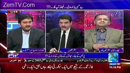 Khara Sach with Mubashir Lucman (Malik M. Ahmed, Spokesperson)– 14th February 2017 10.15 PM
