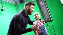 'Making of' de l'espot del SJD Pediatric Cancer Center amb Leo Messi