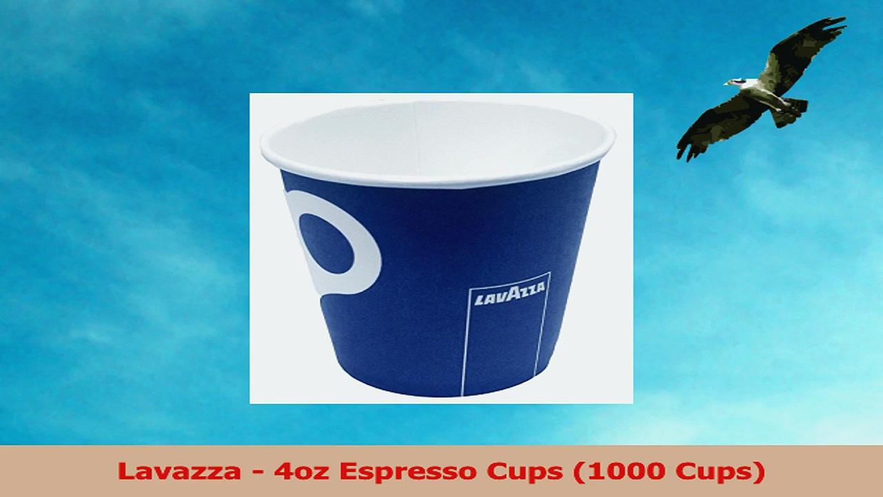 Lavazza  4oz Espresso Cups 1000 Cups 5bfea0fa
