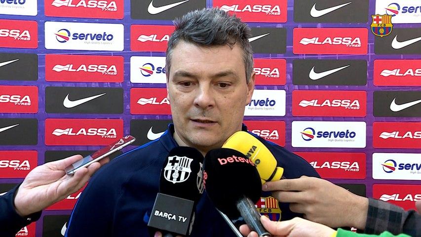 """Pascual: """"El Kadetten ha hecho un cambio importante con el nuevo entrenador"""""""
