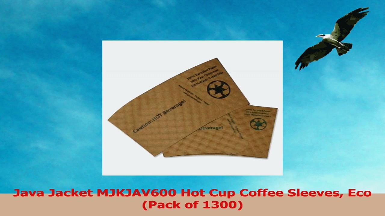 Java Jacket MJKJAV600 Hot Cup Coffee Sleeves Eco Pack of 1300 530df8fa