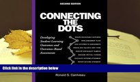 PDF Connecting the Dots: Developing Student Learning Outcomes and Outcomes-Based Assessment For