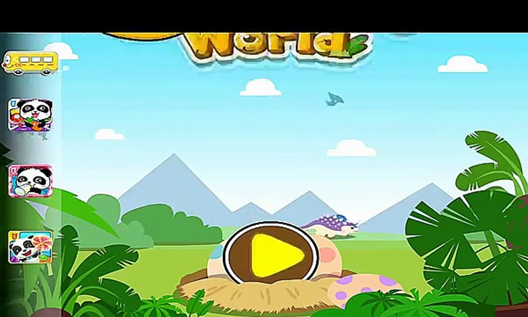 Jurassic World Dinosaurs - BabyBus Kids Games Education Android Gameplay Video