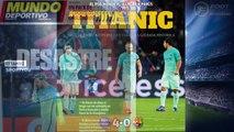 """Foot : L'humiliation"""" du Barça par le PSG fait le tour du monde !"""