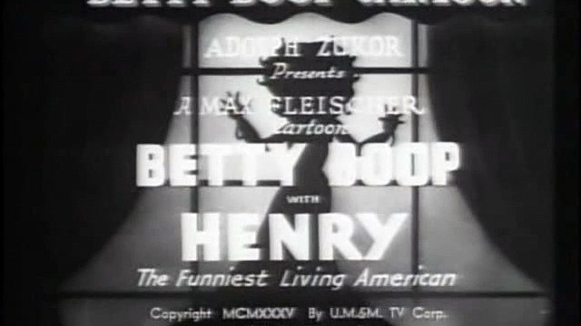 Betty Boop with Henry, the Funniest Living American (1935)