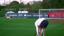 Le coup franc d'Angel Di Maria face au FC Barcelone avait été travaillé depuis des mois à l'entraînement