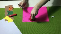 ÜÇ BOYUTLU ÇİÇEK YAPMA-Three-Dimensional Flower Making