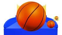 Aprender los Colores con el Baloncesto juego de Disparos, Enseñar a los Colores de Bebé para los Niños el Aprendizaje de los Niños