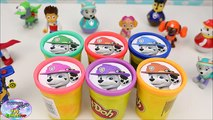 Paw Patrol Learn Colors Marshall Play Doh Preschool Nickelodeon Surprise Egg and Toy Collector SETC