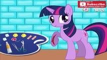 My Little Pony Twilight Sparkle Después de la Lesión Enfermos Heridos MLP a lo