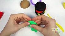 Play Doh Burger Hamburger Hot Dog Bun Sausage Fun How to Make Food Cooking Kitchen PlayDough