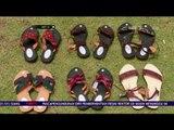 Kreasi Unik Sandal Trendi Berbahan Daun Kering - NET 12