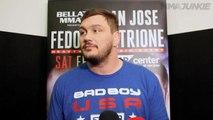 Matt Mitrione insists it's no big deal to be fighting Fedor Emelianenko at Bellator 172