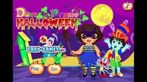 Dora the Explorer Halloween Prepare - Baby Dora videos games for kids