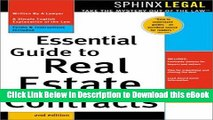 [Read Book] Essential Guide to Real Estate Contracts (Complete Book of Real Estate Contracts) Mobi