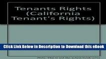 [Read Book] Tenants Rights (California Tenant s Rights) Kindle