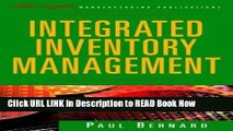 [Popular Books] Integrated Inventory Management (The Oliver Wight Companies) Full Online