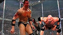 WWE Goldberg vs Undertaker vs Batista | HELL IN A CELL BLOODY MATCH | Batista almost died