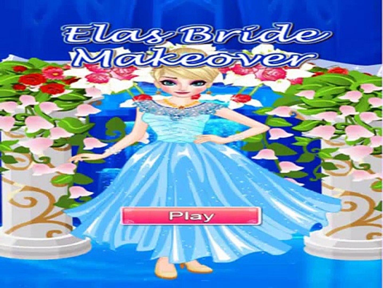 Elsa bride makeover game , best game play for kids , super game for kids , nice game for kids