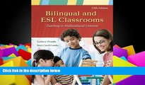 BEST PDF  Bilingual and ESL Classrooms: Teaching in Multicultural Contexts Carlos J. Ovando  Pre