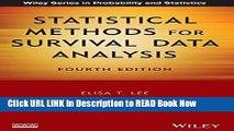 Download Statistical Methods for Survival Data Analysis PDF