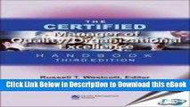 DOWNLOAD The Certified Manager of Quality/Organizational Excellence Handbook: 3rd Edition Mobi