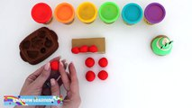 Play-Doh How to Make French Pastries * Play Dough Art * Creative Fun For Kids * RainbowLearning