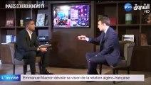 """Emmanuel Macron : """"La colonisation est un crime contre l'humanité"""""""