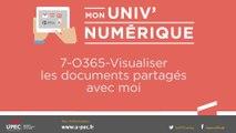 UPEC - 07 - Mon Univ Numérique : retrouver les fichiers partagés avec moi