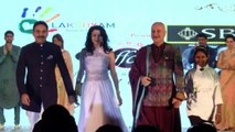 RAJEEV KHANDELWAL WALK  AT RAMP OF PRIDE OF INDIA AWARDS FASHION SHOW WITH SHREYA SARAN,ANUPAM KHER & MANY MORE[1]