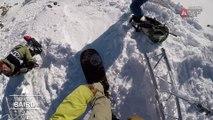 GoPro run Davey Baird - Chamonix-Mont-Blanc staged in Vallnord-Arcalís FWT17