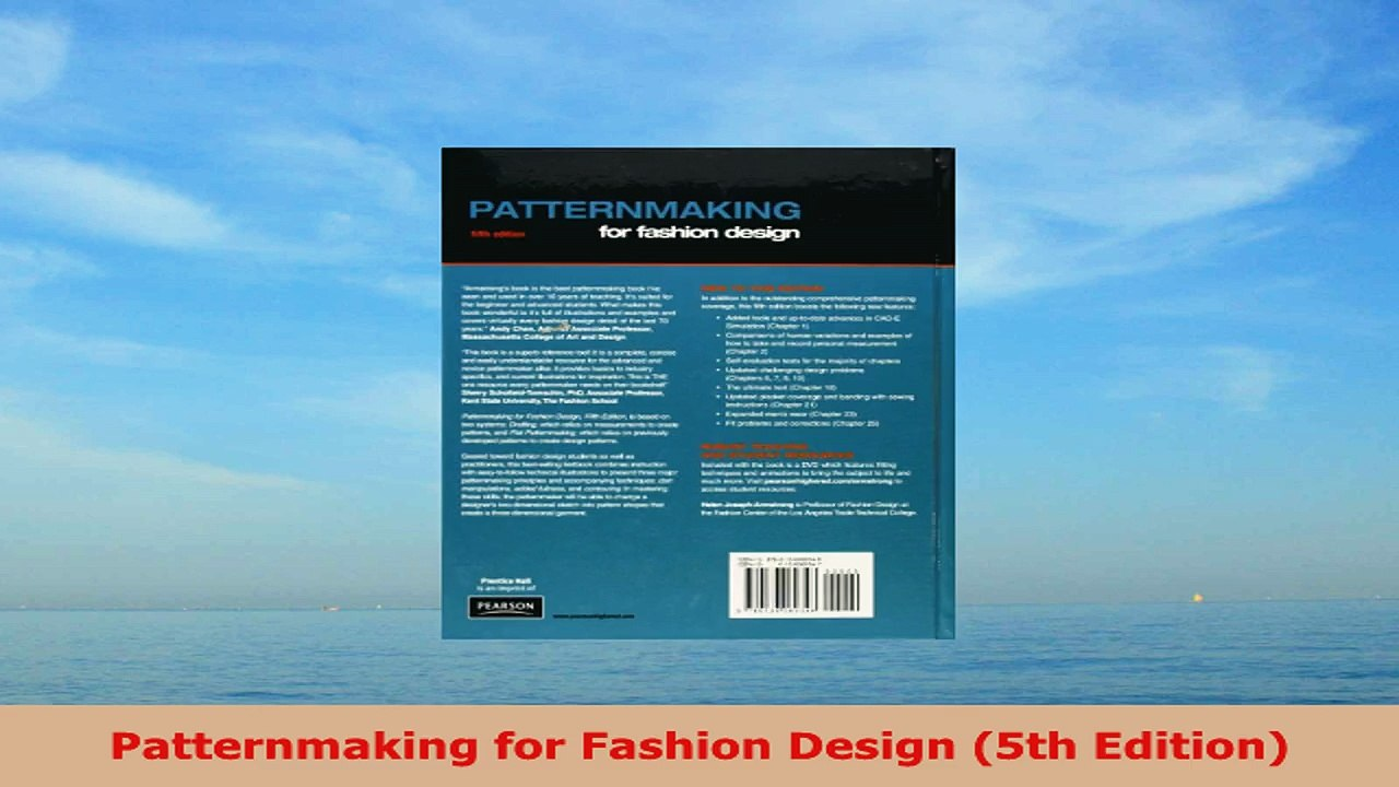 Read Online Patternmaking For Fashion Design 5th Edition Video Dailymotion