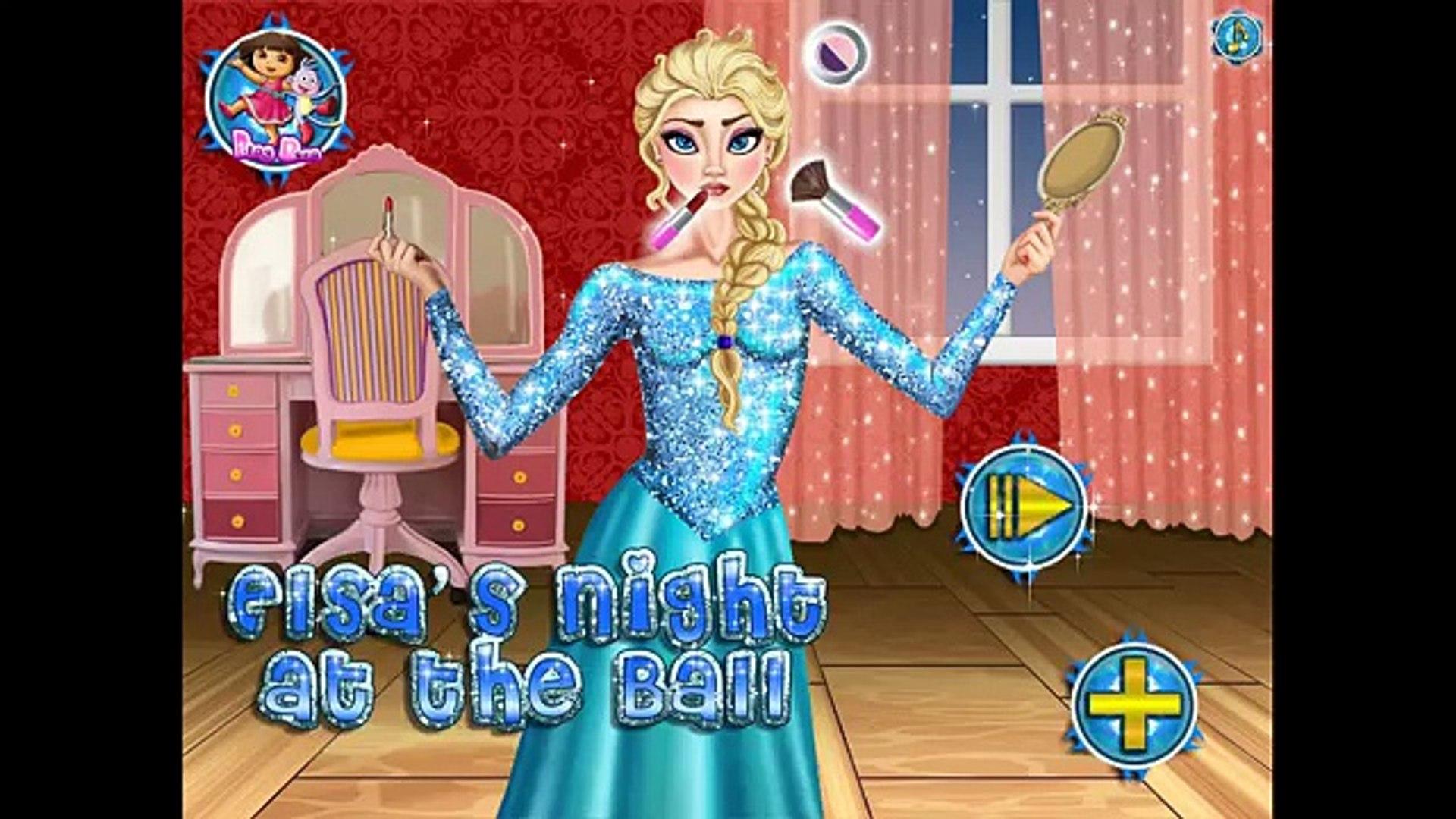 NEW Игры для детей—Disney Принцесса Холодное сердце на бал—Мультик Онлайн видео игры для девочек