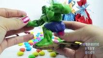 Hulk Ironman Superheroes Toys Surprise Eggs for Children | Captain America Superheroes Surprise Eggs