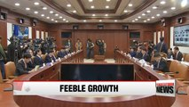 Korea's finance minister says economy losing vitality due to uncertainties at home, abroad