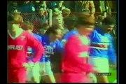01.03.1989 - 1988-1989 UEFA Cup Winners' Cup Quarter Final 1st Leg FC Dinamo Bükreş 1-1 UC Sampdoria