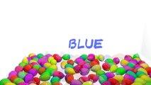 Globos de Estallar Mostrar 3D para el Aprendizaje de los Colores   Enseñar a los Colores Bebé de los Niños de los Niños de la Educación