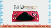 EMI Yoshi Koyal Triangles Luncheon Plates Black Set of 120 839a49fc