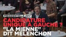 Jean-Luc Mélenchon se propose en candidat unique de la gauche
