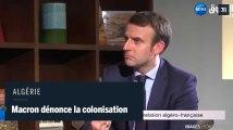 La colonisation de « crime contre l'humanité », selon Emmanuel Macron