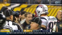Brady s 37-Yard Pass to Gronk Leads to Blount s TD Blast!   Patriots vs. Steelers   NFL