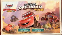 Disney CARS : Extreme OFF-Road Rush! Pixar Cars Games for Kids! Kids Games Videos