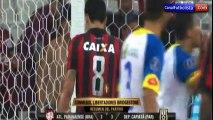 Atlético Paranaense 3-3 Deportivo Capiatá Resumen GOLES Copa LIbertadores 2017