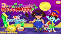 Dora the Explorer Game Episode - Dora Halloween Prepare - Baby Videos Games for Kids New HD
