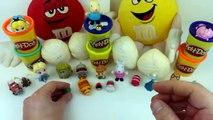 10 Surprise Eggs Shopkins Peppa Pig Elsa Spiderman Disney Play Doh Elsa Thomas Tusm Toys Fun kids